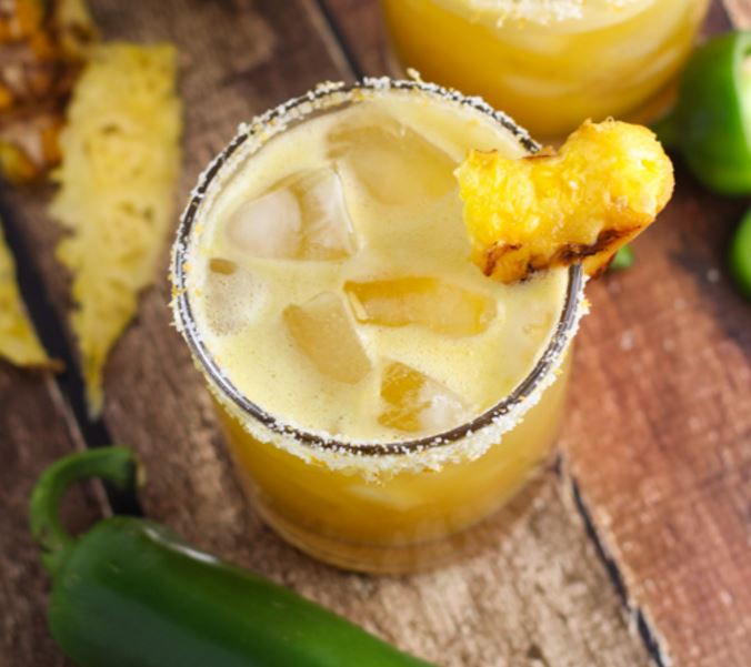 Grilling with AmeriGas Grilled Pineapple Margarita