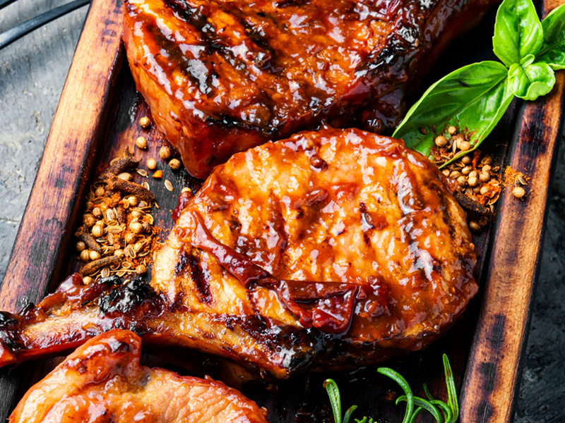 pumpkin spice marinated chicken
