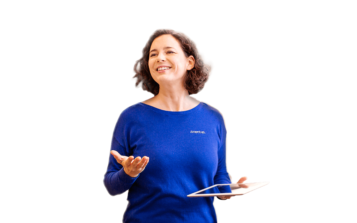 woman in blue long sleeve shirt